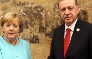 Erdoğan Merkel İle Görüştü