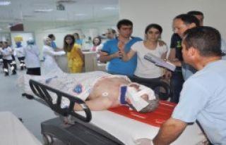 Ak Partili Milletvekili Yaralandı