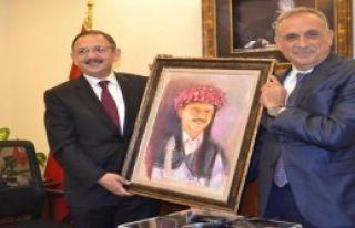 AK Partili Özhaseki'den Ödemiş'e Ziyaret