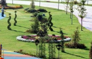 Aliağa'ya İzmir Kültürpark Kadar Yeşil Alan