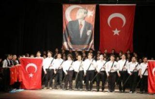 Ankara Gölbaşı'nda Atatürk Anıldı