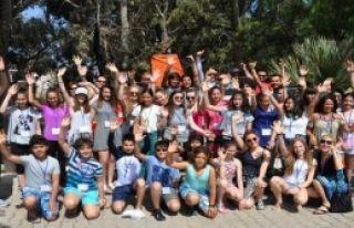 Avrupa Gençliği Datça'da Buluştu