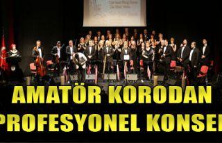 Amatör Korodan Profesyonel Konser