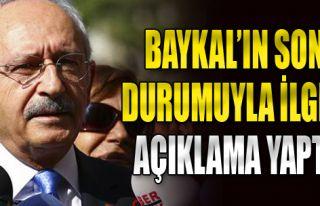 Kılıçdaroğlu, Deniz Baykal'ın Son Durumuyla İlgili...