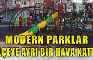 Yeni Parklar Hizmete Açılıyor