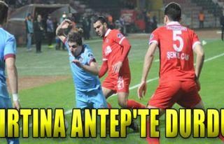 Gaziantepspor: 2 - Trabzonspor: 0