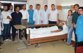 Adana'da Doktora Yumruklu Saldırı