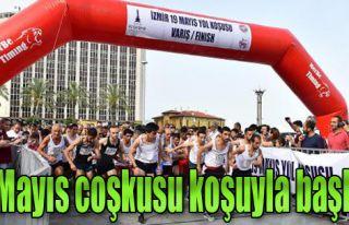 İzmir'de 19 Mayıs Coşkusu Başladı