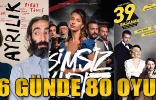 İzmir Tiyatro Günleri'nde 80 Oyun Sahnelenecek