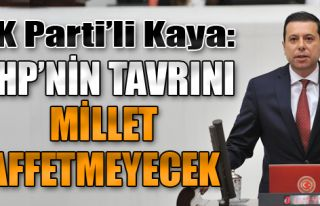 'CHP'nin Tavrını Millet Affetmeyecek'