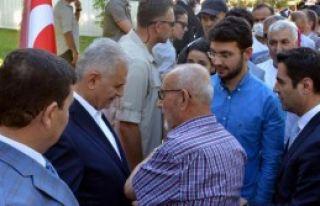 Başbakan Yıldırım, Memleketi Erzincan'da