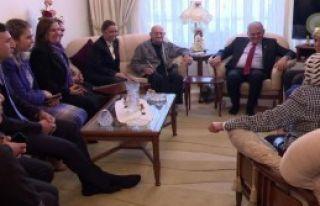 Başbakan Yıldırım'dan Ev Ziyareti