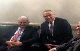 Başkan Badem'den Ankara Ziyareti