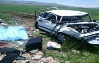 Bayram Ziyareti Yolunda Kaza: 1 Ölü