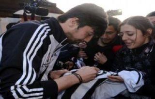 Beşiktaş'a Gaziantep'te Çoşkulu Karşılama