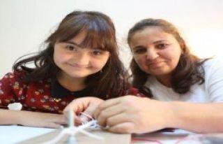Down Sendromlu Çocuklara File-Örgü Kursu