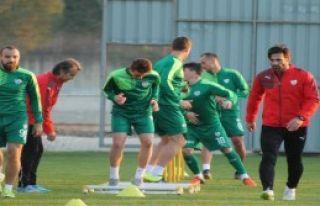 Bursaspor'da Çift Kale Maç