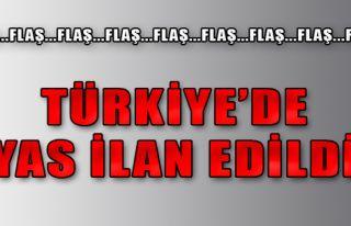 Türkiye'de Yas İlan Edildi