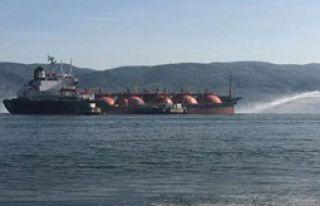 LPG Yüklü Tanker Alev Alev Yandı