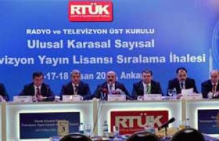 Televizyon Lisans İhalesi Tamamlandı
