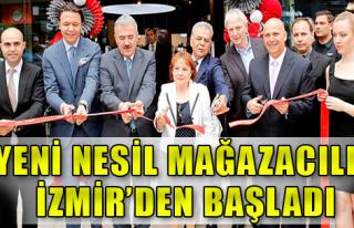 İzmir'de Yönetimin Zirvesi Açılışta Buluştu