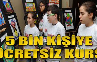 Karşıyaka'da 5 bin kişiye ücretsiz kurs