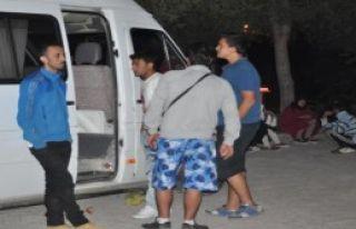 Çanakkale'de 53 Kaçak Yakalandı