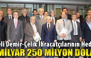 Egeli Demir-Çelik İhracatçılarının Hedefi 1...