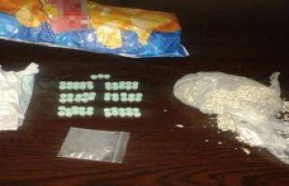 Cips Paketinden Uyuşturucu Çıktı