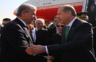 Erdoğan, Sellal'i Kabul Etti