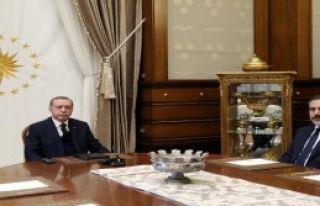Cumhurbaşkanı Erdoğan, Mit Müsteşarı Fidan'ı...