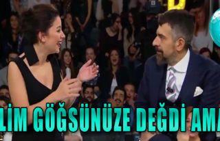 Merve Özbey'in Göğsüne Dokununca...