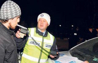 Direksiyonda 1.00 Promil'e Gözaltı