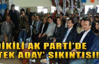 AK Parti Dikili'de Sıkıntı