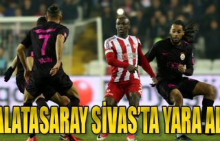 Galatasaray 1 - 2 Sivasspor