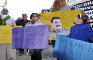 Doğubayazıt'ta 15 Şubat Protestosu