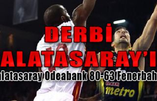 Galatasaray Odeabank 80-63 Fenerbahçe