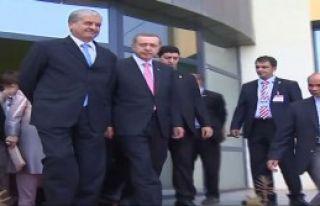 Erdoğan Cezayir'de Açılış Yaptı