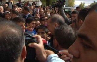 Erdoğan Çocuklarla Sohbet Etti