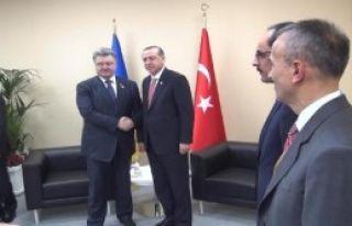 Erdoğan Ukrayna Başbakanı İle Görüştü
