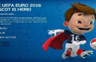 Euro 2016'nın Maskotu Açıklandı