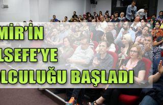 İzmir'in Felsefe'ye Yolculuğu Başladı