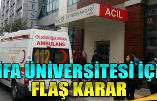 Şifa Üniversitesi İçin Yeni Mahkeme Kararı