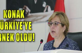 Konak Türkiye'ye örnek oldu