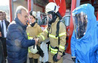İzmir'in 11. İtfaiyesi Gaziemir'de Kuruldu
