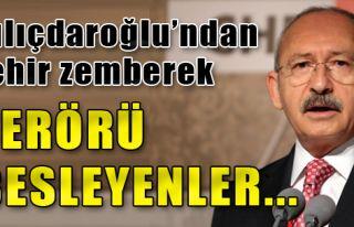 Kılıçdaroğlu'ndan Zehir Zemberek Sözler...