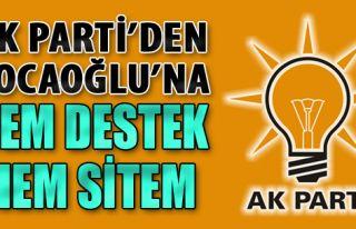 AK Parti'den Kocaoğlu'na Hem Destek Hem Sitem