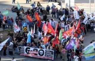 G-20 Protesto Eyleminde Polis Müdahalesi