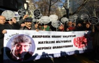 Gazeteci Dink, Ankara'da Anıldı