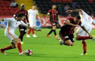 Gaziantepspor-Galatasaray: 1-2